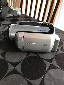 Panasonic video camera with carrying case