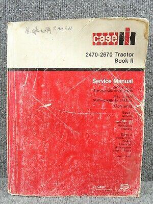 Original Case Ih 2470 2670 Service Repair Shop Manual Book 2