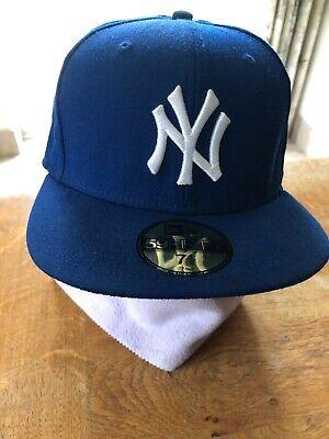 New Era 59Fifty New York Yankees MLB Basic 5950 NY Baseball Cap 7 1/2