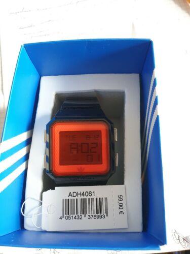 Adidas Digital ADH4061 Chrono Unisexuhr Schwarz