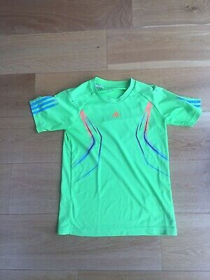Boys Adidas  13-14Y Green Climate sports top for sale  Shipping to Nigeria