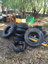 Old truck and car tyres Parmelia Kwinana Area Preview