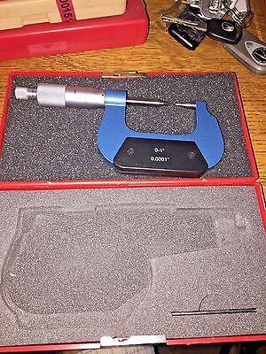 Spi Point Micrometer 0-1 0.0001 12-396-12