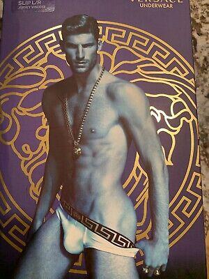NWT Authentic Versace Men's Brief Size 5 Medium Mens Underwear Baroque