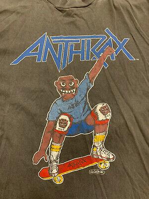 Vintage Anthrax Spreading the Disease 1986 Tour T-Shirt