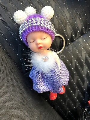 sleeping baby doll keychain - Unique Doll Mini Key Holder For House And Car Keys
