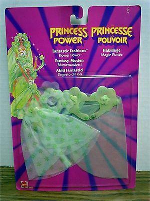 Flower Power Fantastic Fashions Princess of Power She-ra New Shera 1986 MOC