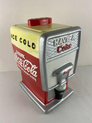 Coca-Cola Cookie Jar - SODA FOUNTAIN Have A Coke, Ceramic 2002