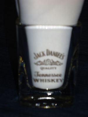 JACK DANIEL'S TENNESSEE WHISKEY square shot glass