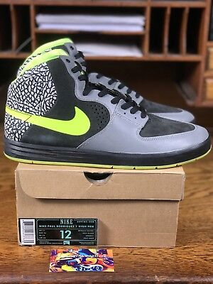 42701ac7ee73 DS Nike Paul Rodriguez 7 High PRM DJ Clark Kent 112 (629183-030) Mens Size  12