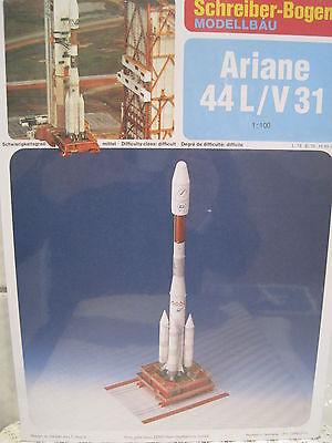 Ariane 44L/V 31 Rakete Schreiber-Bogen Kartonbausatz *NEU* Bastelbogen