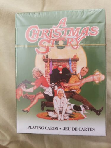 A Christmas Story Playing Cards Sealed Package