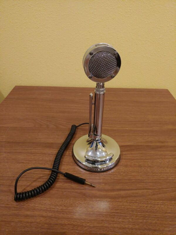 Astatic D104 Silver Eagle Chrome Finish Desk Microphone