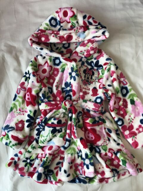 Girls Minnie Mouse Disney Dressing Gown 12-18 Months | eBay