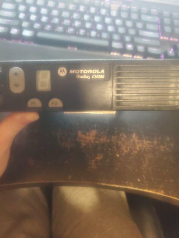 Motorola CM200 VHF Model AAM50KQC9AA1AN