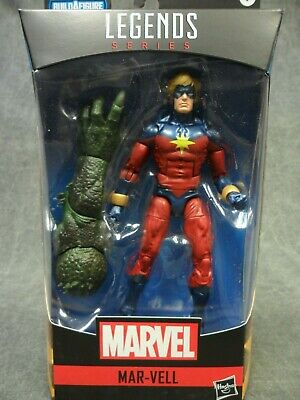 Marvel Legends NEW * Mar-Vell * Avengers Video Game BAF Abomination Wave 1