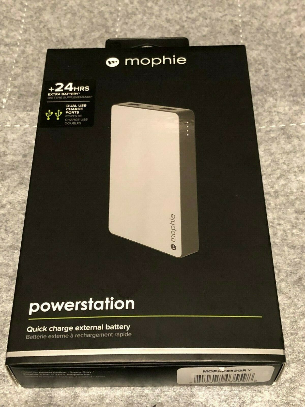 New Mophie Powerstation 24 HR Quick Charge Battery 6000 MAH