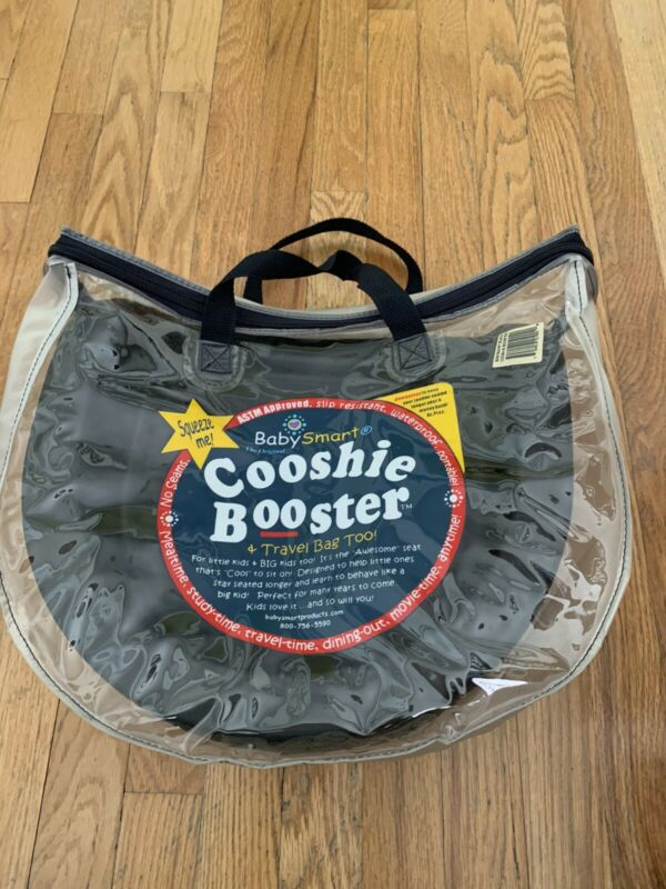 NEW BabySmart Cooshie Booster With Travel Bag