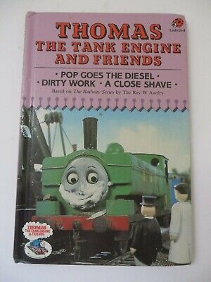 Thomas The Tank Engine & Friends Pop Goes the Diesel Ladybird 1986