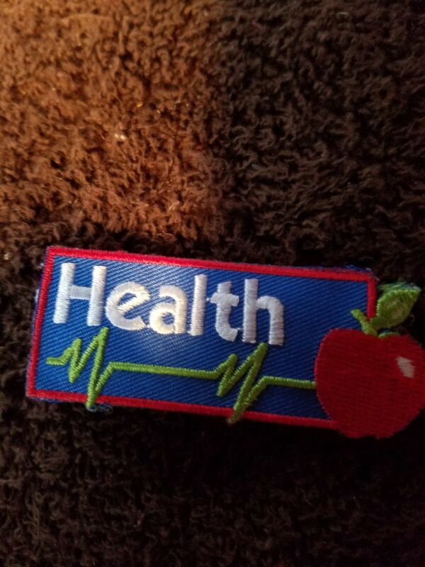 Cub Scout health patch 2007 New