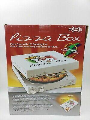New Cuizen Pizza Box Portable Rotating Oven Countertop 12 Pizza Makerpiz-4012