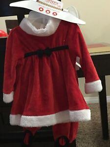 Baby santa claus custume