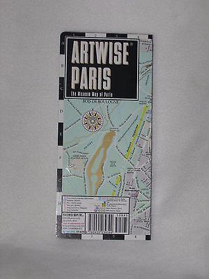 Artwise Paris France Map Laminated Museum Map 2013