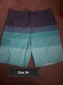 3 pair's of men's shorts.