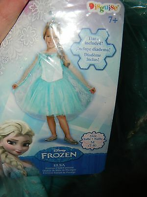 Disney Frozen Elsa Prestige Tutu Girls Costume Dress Halloween Size Medium 7-8