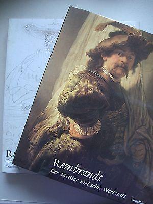 2 Bd. Rembrand Der Meister seine Werkstatt Gemälde Zeichnungen Radierungen 1991