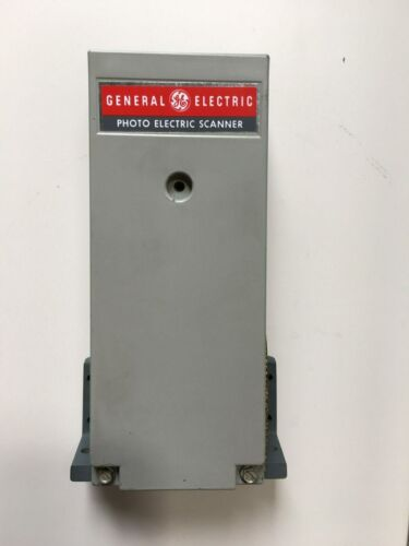 NEW GE General Electric Reflex Photo Electric Scanner  Model #3S7505PS510E6
