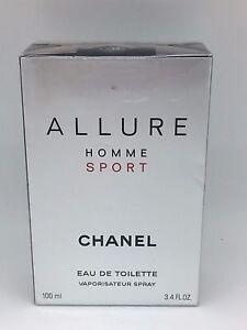 48c23f1a CHANEL Allure Homme Sport Eau De Toilette Spray 3.4 Oz 100ml