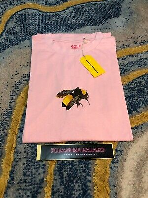 "Golf Wang SAVE THE BEES ""BEE"" T-Shirt [PINK] - Tyler The Creator SIZE S M L XL"