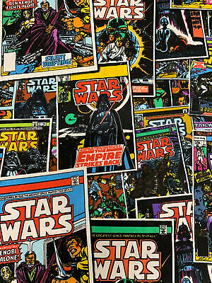 Star Wars - Comic Covers - Fabric Material