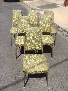 Dining Chairs  x 2, retro, 60's furniture, kitchen WE DELIVER Brunswick Moreland Area Preview
