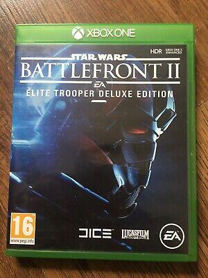 Star Wars Battlefront 2 Elite Trooper Deluxe Edition (Xbox One) Excellent Disc