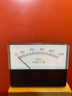 Hoyt 3 12 Ac Volts Analog Panel Meter Model 3136 0-150v