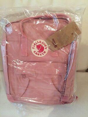 Fjällräven Kanken 16l *Rosa* Pink Schwed. Kultrucksack Sitzkissen Unisex NEU