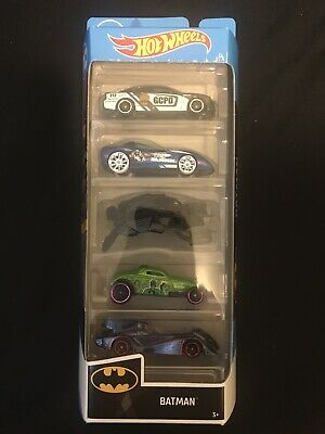 Hot Wheels 5 Pack DC Batman Set NEW Sealed Unopened Cars/Vehicles