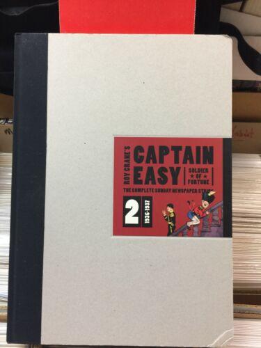 CAPTAIN EASY HARD COVER BOOK ROY CRANE SUNDAY STRIPS 1936 - 1937 FANTAGRAPHICS