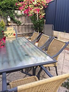 Outdoor Dining Setting - Large Claremont Nedlands Area Preview