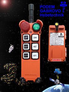 Funkfernsteuerung F21-E1 Steuerung für Kran, Laufkatze, Demag NEU