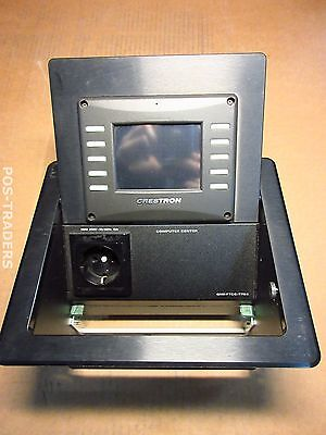 Crestron QMI-FTCC-TPS4 Balum FlipTop Touchpanel Computer Center EXCL PSU