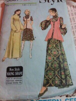 Ladies Vintage Dressmaking Pattern size 12 bust 34