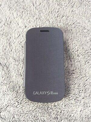 Samsung Galaxy S3 mini FLIP COVER dunkelblau Schutzhülle i8190 smart case blue Mini-flip-cover