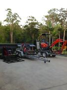 Diy Mini Diggers Qld. Mini excavator / loaders from $175 ph:0 Nerang Gold Coast West Preview