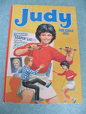 D C THOMSON   JUDY FOR GIRLS   1985