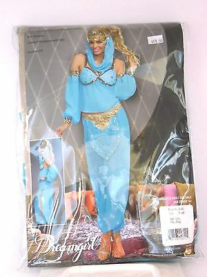 Women's Size Small Genie In a Bottle Cosplay Halloween Costume Party Dance](Genie Bottle Costume)