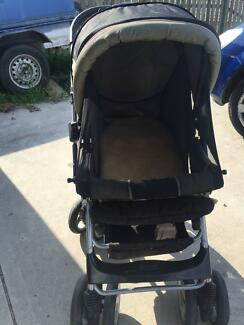 Steelcraft Elite Reverse Handle Stroller - Used Upper Coomera Gold Coast North Preview