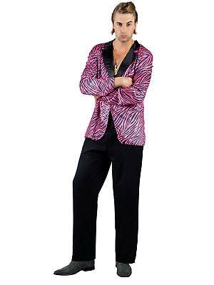 Jacke Luxe Pimp Tiger Party Kostüm ()